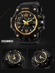 Relógio Masculino Esportivo Skmei 1155 Prova D'agua S-shock