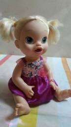 Boneca BABY ALIVE loira HORA de COMER! 50 REAIS! Leia a publicação. ??