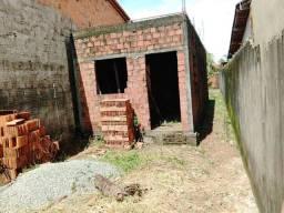 Casa em construção em laje