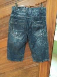 Título do anúncio: Bermuda Jeans tamanho 14 anos