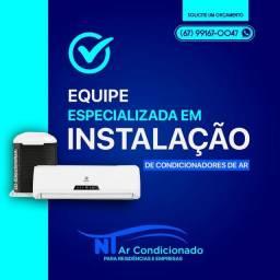 Título do anúncio: Instalação de ar condicionado instalador