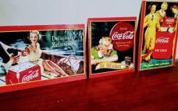 Placas Retrô da Coca-Cola