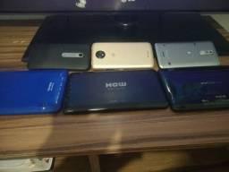 Tablet e celulares  com defeito