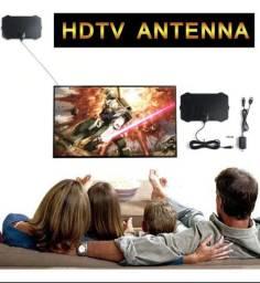 antena digital interna mas amplificador sinal hd TV para TV