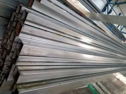 Título do anúncio: Tubo de metalon 30x30 na 070 espessura barra nova de 6m