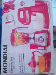Kit Mondial ( Suqueira, Liquidificador e batedeira)