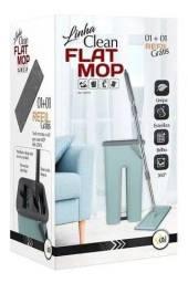 Título do anúncio: Kit Rodo Mágico Flat Mop Com Balde e  1 Refil extra GRÁTIS (Birigui)