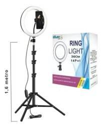 Título do anúncio: Iluminador De Led Tripé Ring light