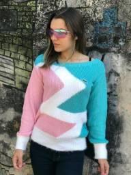 Título do anúncio: Suéter Feminino de Tricô