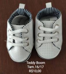 Sapatinho de bebê Teddy Boom