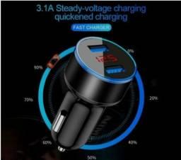 Carregador Veicular Super Charger Para Celular e Outros Dispositivos