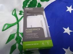 Carregador Portátil Preto Pny Powerpack T6600 In (Novo-na caixa)