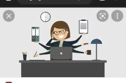 Título do anúncio: Assistente/auxiliar administrativo (LEIA!)