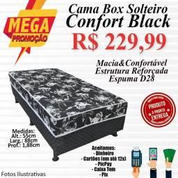 Título do anúncio: CONJUGADO CONFORT BLACK (SOLTEIRO)