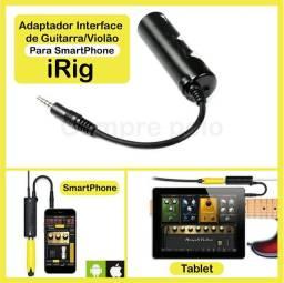 Interface de Audio IRIG Para Guitarra e vídeos Profissionais no Celular