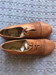 Sapato Oxford Marrom 37