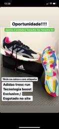 Título do anúncio: Tênis adidas exclusivo tresc run boost!