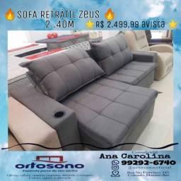 Título do anúncio: Sofa retratil, sofa reclinavel !!!! SOfa 2.40M