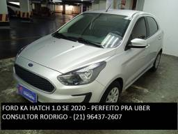 Ford Ka Hatch 1.0 SE - Perfeito pra Uber