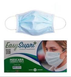Máscaras Descartável Cirúrgica Tripla Proteção 50 unid.