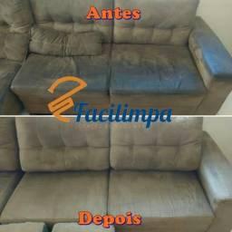Faça em casa a limpeza/ lavagem do seu sofá, colchão, bancos, tapete: aluguel extratora