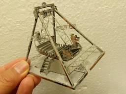 Quebra cabeca 3D metal