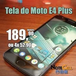 Tela do Moto E4 Plus - (Display LCD)