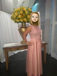 Vestido Rose Festa