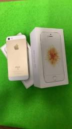 IPHONE SE 16g GOLD , lindo