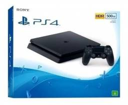 Ps4 Slim Sony 500gb Hdr Original