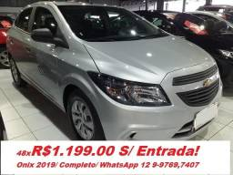 GM Chevrolet Onix Completo - 2019