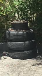 Vendo rodas de ferro