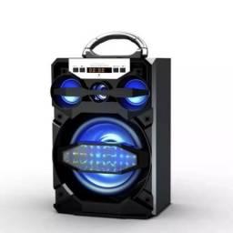 Caixa De Som Portátil Amplificada Usb Mp3 Radio Fm MS-219BT