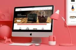 Faço criação de loja virtual E-commerce