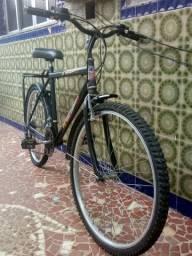 Bicicleta bike marcha e garupa aro 26