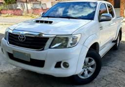 Hilux SRV 3.0 4X4 Turbo Diesel Branca - 2013