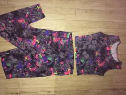 Lote roupas fitness