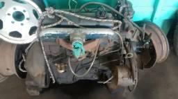 Motor a diesel k20b de D10 revisado