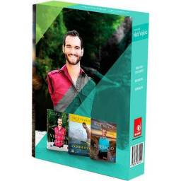 Box - Coleção de Livros Novos Nick Vujicic: Uma História de Vida Inspiradora