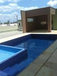 126 mil apartamentos novos Caucaia piscina 2 quartos(1 suíte) 1 vaga 48m²