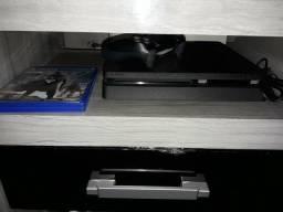 PS4 - 500 GB com 6 jogos - 2 Meses de Uso