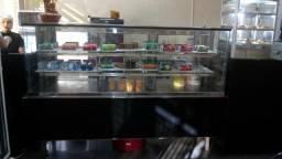 Freezer balcão vitrine refrigerado