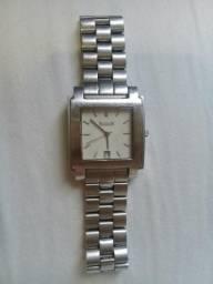 Relógio Natan Em Aço Inoxidável Com Calendário J10814