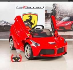 Carro elétrico infantil motorizado ferrari rastar 12v