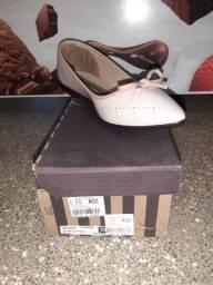 Vendendo sapatos