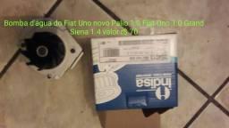 Bomba dagua novo palio 1.0 uno /1.0/1.4 11/grand sinal.1.4 12/ evo70,00reais.