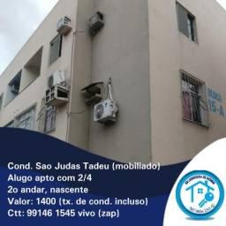 Condomínio São Judas Tadeu - valor 1400 (mobiliado)