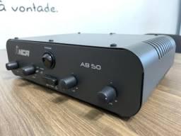 Amplificador Compacto Para Som Ambiente NCA AB50 50 Wrms