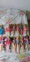 12 bonecas originais Barbie