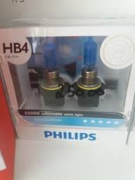 Lâmpada super branca philips hb4 nova comprar usado  Curitiba